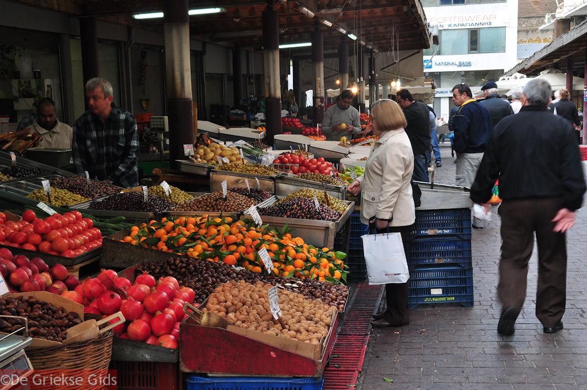 De atheense markt attica informatie en tips de atheense markt - Zinkt de verkoop ...