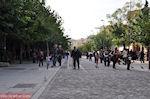De Makrigiannis straat ten zuidoosten van de Akropolis