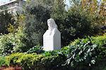 Melina Merkouri monument op de Syggrou Avenue