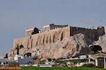 Akropolis vanaf de Adrianus poort