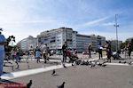 Duiven op het Syntagma plein