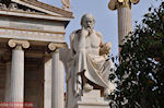 Beeld van Socrates (2m 40 cm): Academie Athene