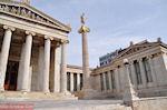 Academie Athene: God Apollon op de lange zuil
