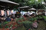 Cafe-Restaurant Ydria aan de Adrianou Str in Monastiraki - Athene - Foto van De Griekse Gids