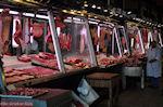 De vleesmarkt van Athene aan de Athinastraat - Markt Athene