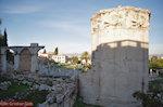 De Toren der Winden op het Romeinse Forum in Athene