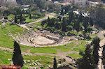 Het Dionysostheater aan de Akropolis