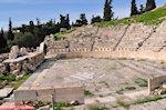 Het Theater van Dionysos in Athene