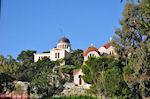 Het Nationale Observatorium nabij de heuvel der Nymfen in Athene