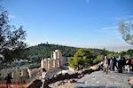 Het Theater van Herodes Atticus - Aan de overkant de Philopapou-heuvel - Foto van De Griekse Gids