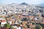 Voorin Plaka en in de verte Likavitos - Foto van De Griekse Gids