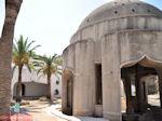De stoa van de waterbronnen van Kalithea Rhodos