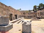 Kamiros (Rhodos), deze stad is in 226 voor Christus opnieuw gebouwd