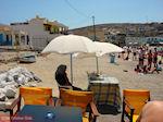 Kruiden verkopen aan het strand van Pserimos - Foto van De Griekse Gids