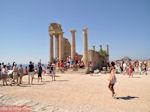 De tempel van Athena Lindia - Lindos (Rhodos) - Foto van De Griekse Gids