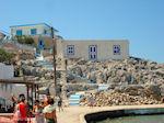 Opvallende trapjes en gebouw op Pserimos - Foto van De Griekse Gids