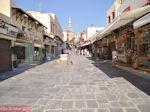 De lange bazaar van Rhodos stad