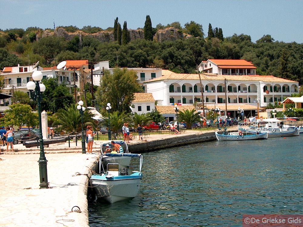 Kassiopi Corfu  Holidays in Kassiopi Greece