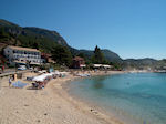 The beaches of Paleokastritsa